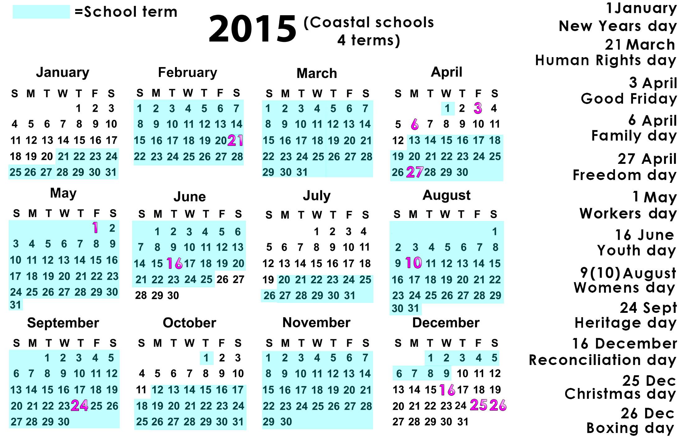 Public Coastal Schools