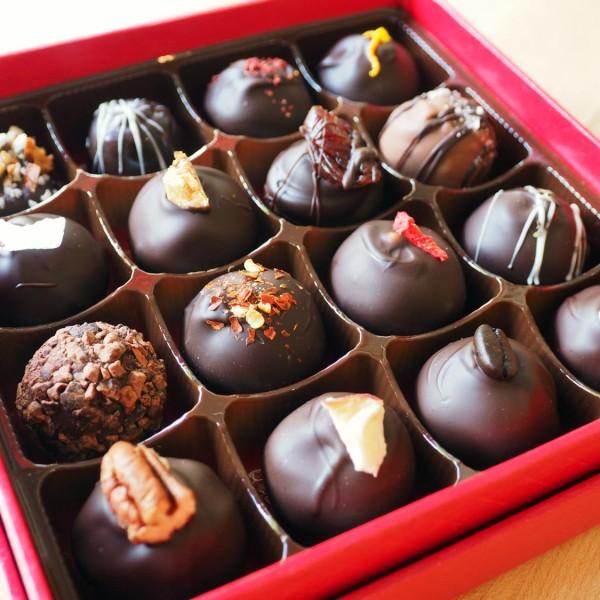 Soft centre chocolates